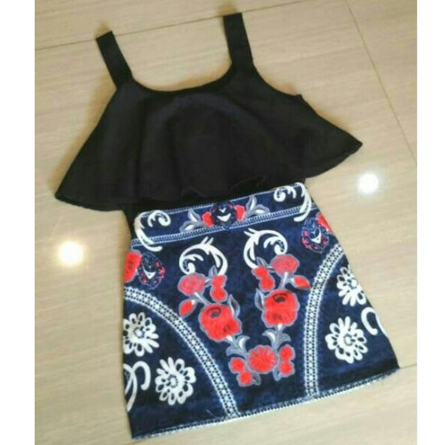 NEW Black Tanktop Import BANGKOK - Size Besar