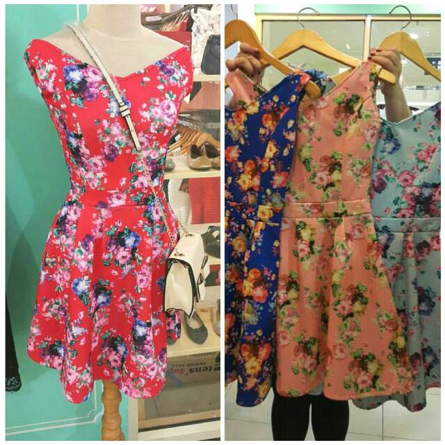 NEW Flower Rossy Pink Bangkok Dress PREMIUM QUALITY