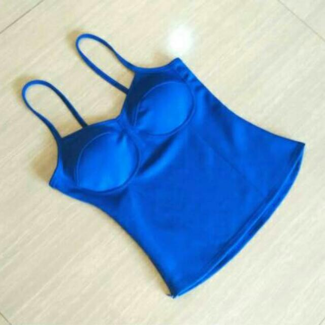 NEW Royal Blue Bustier IMPORT BANGKOK Premium