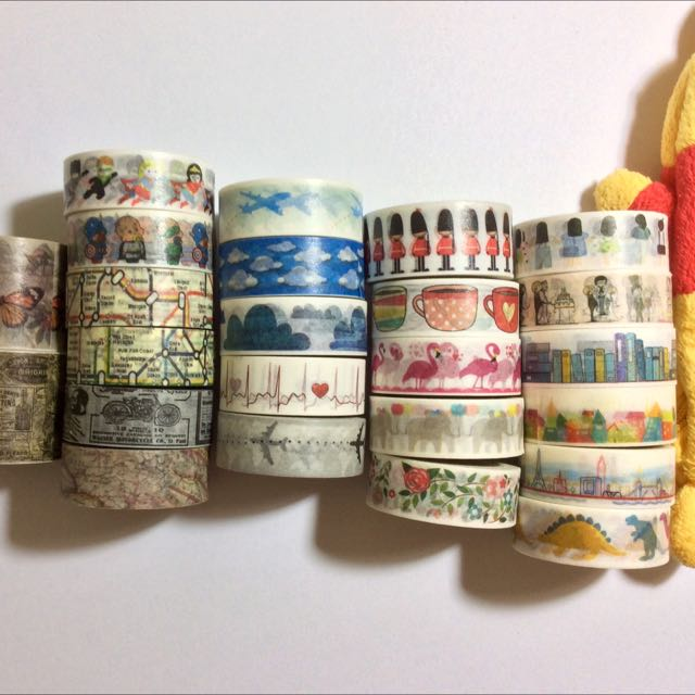 New Washi Designs
