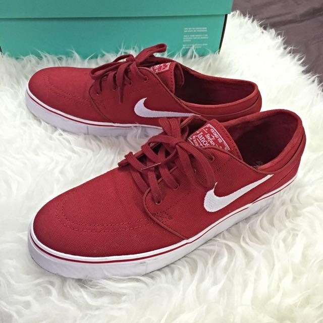 Nike Sb Stefan Janoski Varsity Red