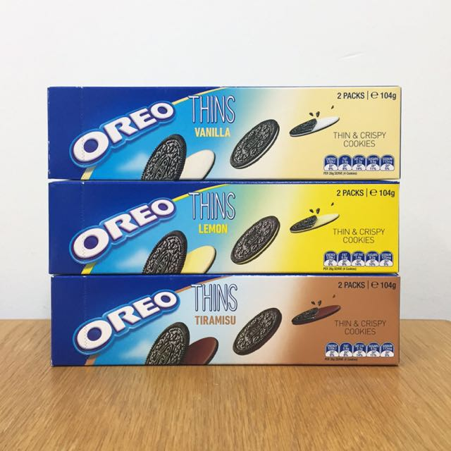 (Preorder closed) Oreo Thins