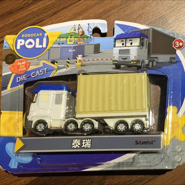 POLI 玩具汽車 泰瑞公仔 正版模型