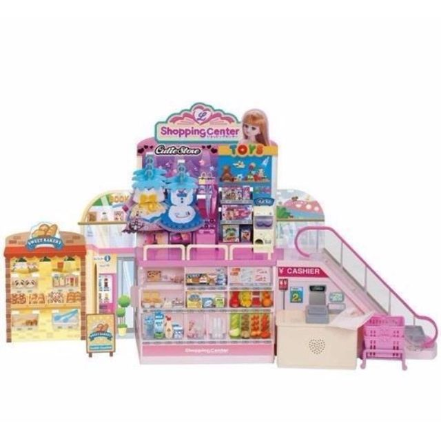 [Pre-order] Takara Tomy Licca chan Shopping Centre Playset