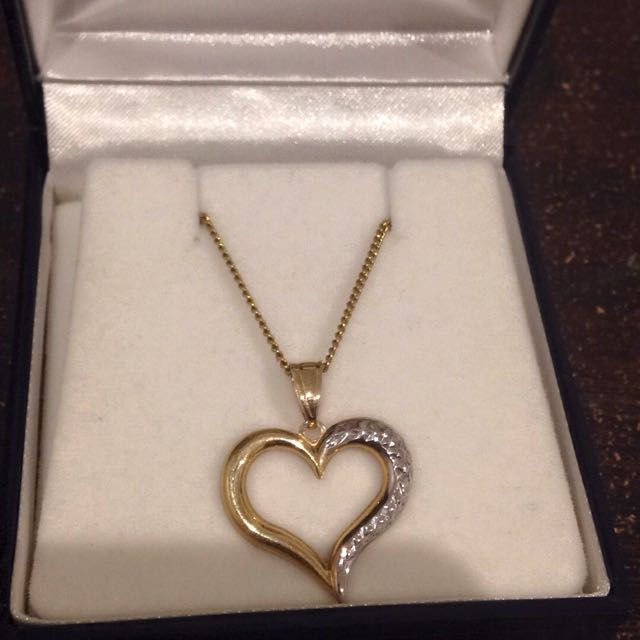 Prouds the Jewellers Heart necklace