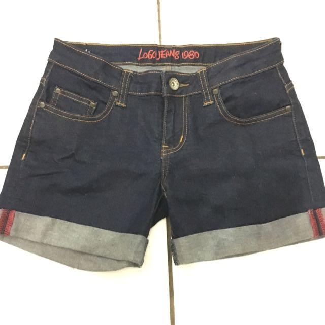 Short Pants Logo Jeans