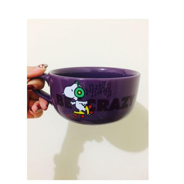 Snoopy 變色杯碗