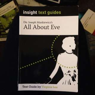 Insight Text Guide For All About Eve