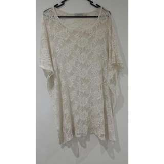 Mink Pink Top Size 8