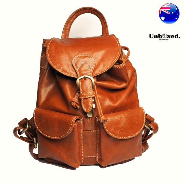 100% Genuine Kangaroo Leather Backpack