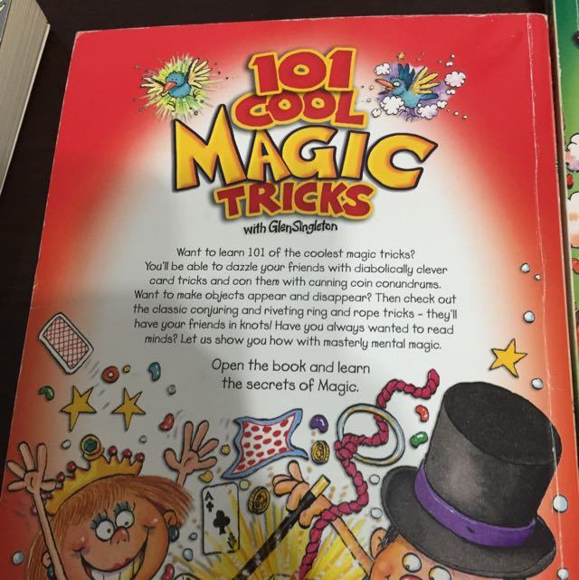 101 Cool Inventions, Magic Tricks And Science Experiments