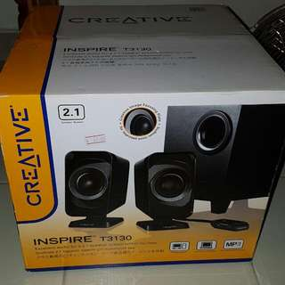 Creative Inspire T3130 Brand New