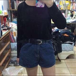 深藍色牛仔褲(出清含運