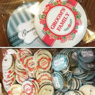 Printed Button Badges