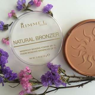 *REDUCED* Rimmel Waterproof Natural Bronzer