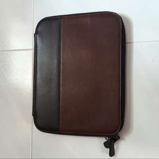 Authentic  Coach Leather Organizer