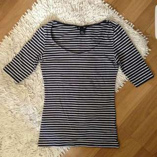 H&M Stripes Top