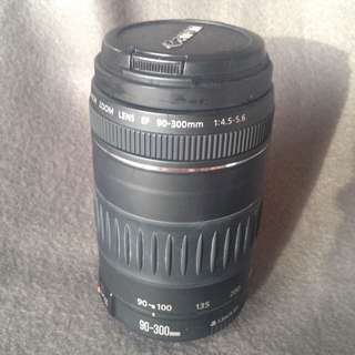 Canon 90-300mm EF Zoom Lens