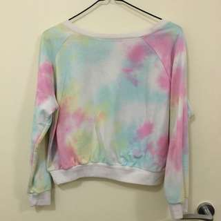 Colourful Long Sleeves Top