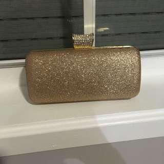 Verali Glitter Clutch