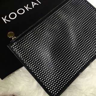 Kookai Leather Clutch Bag