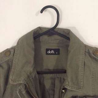 Repriced!! - Dotti Military Jacket