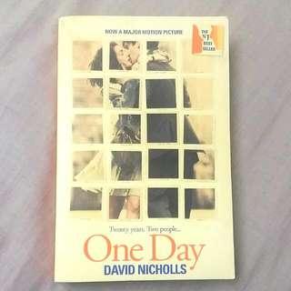 ONE DAY  BY: DAVID NICHOLLS