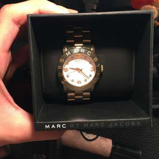 Authentic Gold Marc Jacobs Watch
