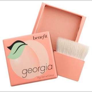 BENEFIT GEORGIA BLUSH ON