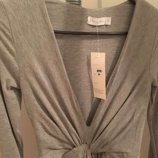 Shareen Grey Maxi Dress