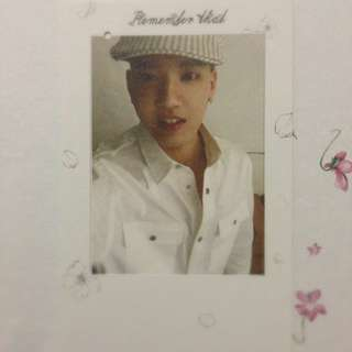 [WANT TO TRADE] BTOB REMEMBER THAT ALBUM: Peniel's Bookmark To Ilhoon's Bookmark