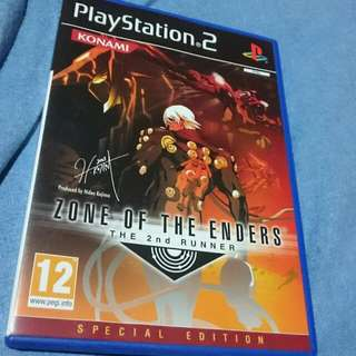 Zone Of Enders 2nd Runner