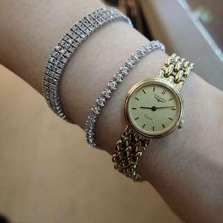 收💘longines 錶 (金)