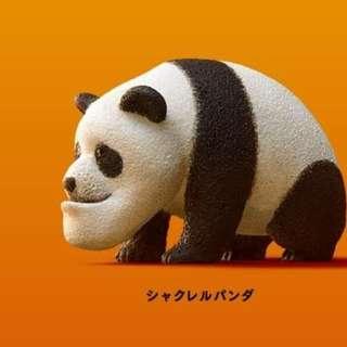♠ 扭蛋♠T-ARTS-厚道系列動物星球-熊貓