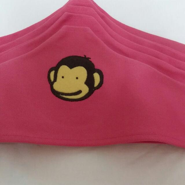幸福猴防塵蹣衣架套5入