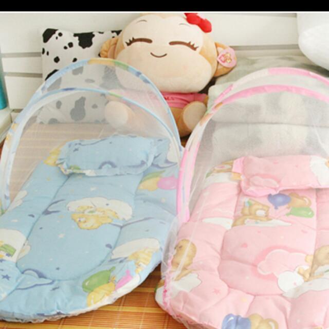 防蚊帳寶寶折疊式床