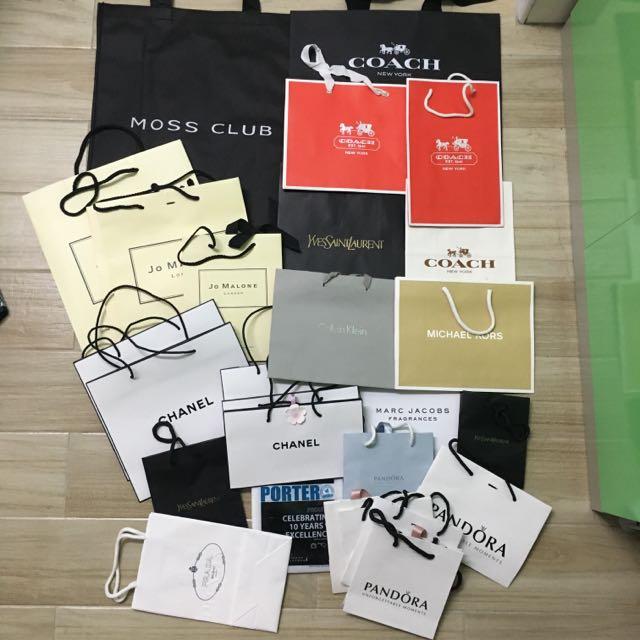 各大品牌紙袋/環保袋♻️