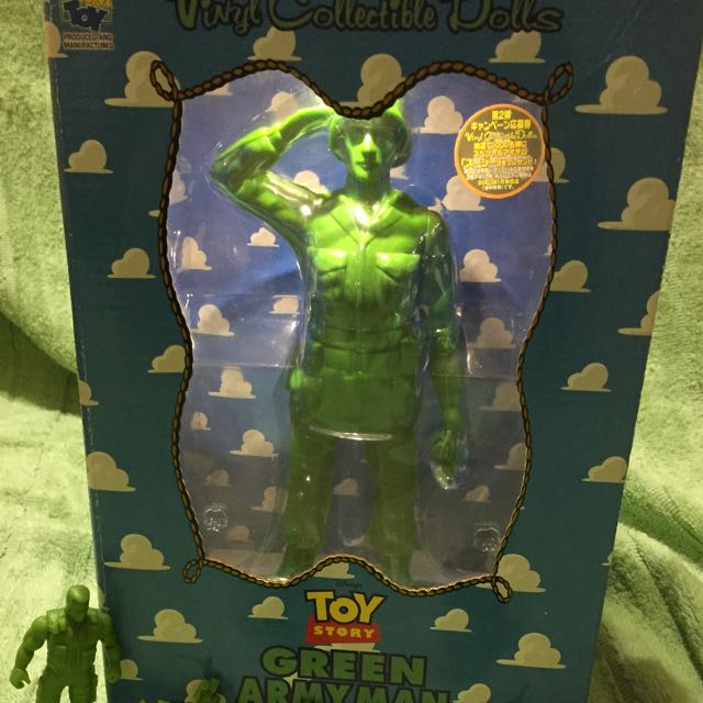 不議價 玩具總動員 隊長 士兵 綠兵 Medicine Toy