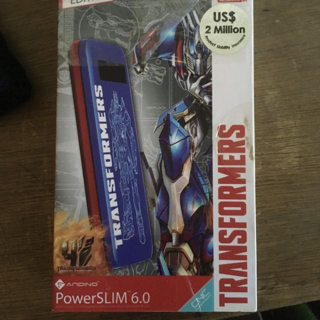 Andino Power Bank Slim 6.0 Transformers