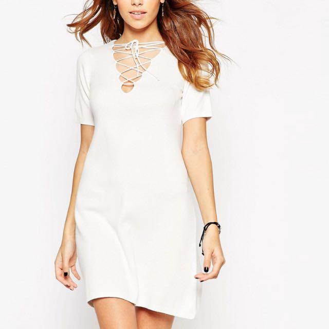 ASOS購入歐美前交叉洋裝
