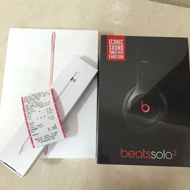 Beatssolo2 蘋果apple 耳機 消光黑