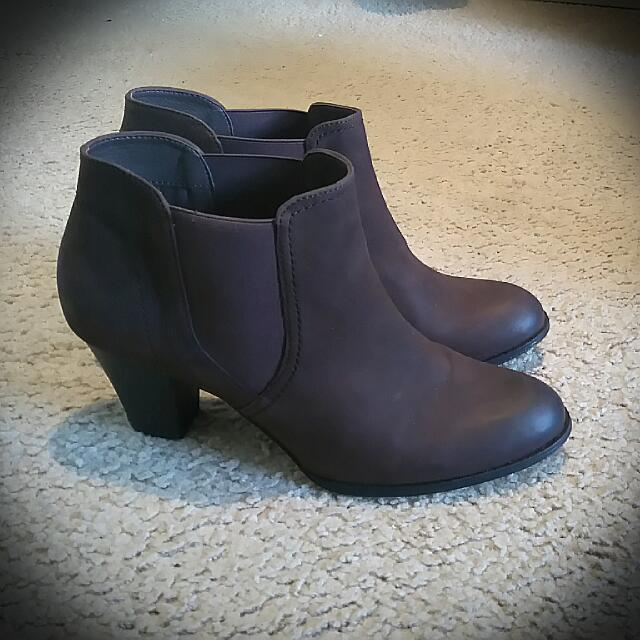 Bonbons Leather Boots Size 10/41