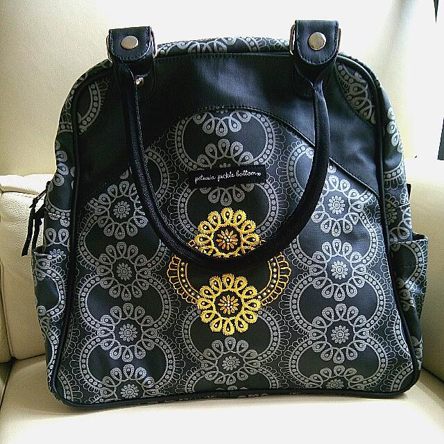 petunia pickle bottom diaper bag backpack