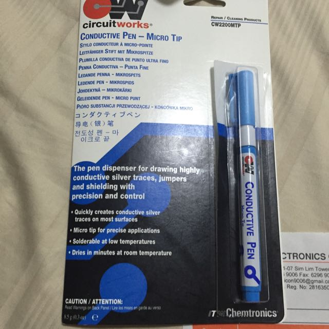 circuit works conductive pen, everything else on carousell