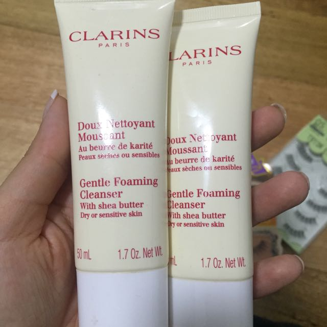 Clarins Foaming Cleaners