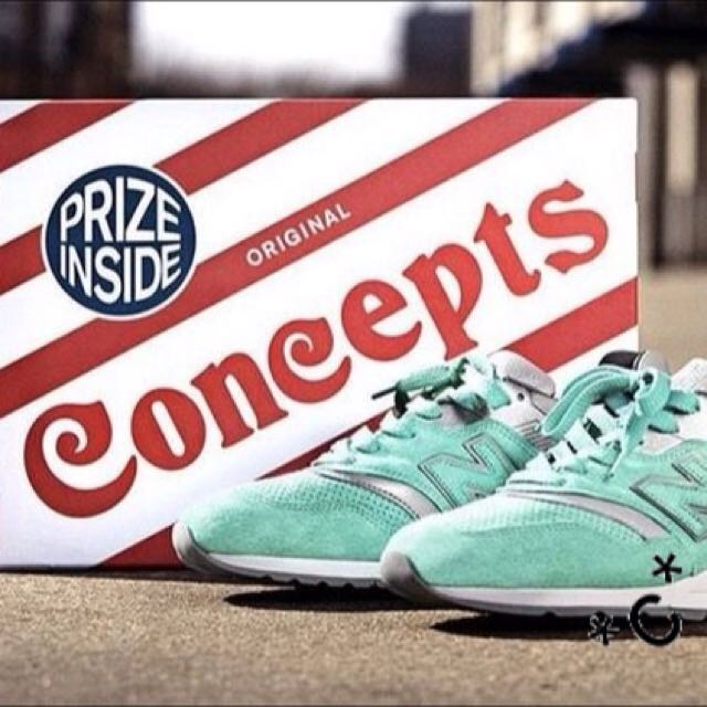"CONCEPTS X NEW BALANCE 997 ""NEW YORK"" US 7.5"