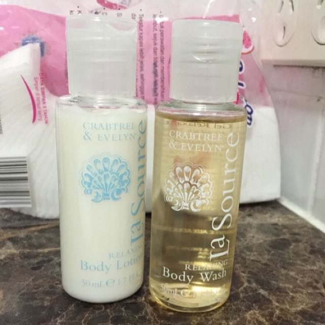Crabtree & Evelyn Body Lotion And Shower Gel