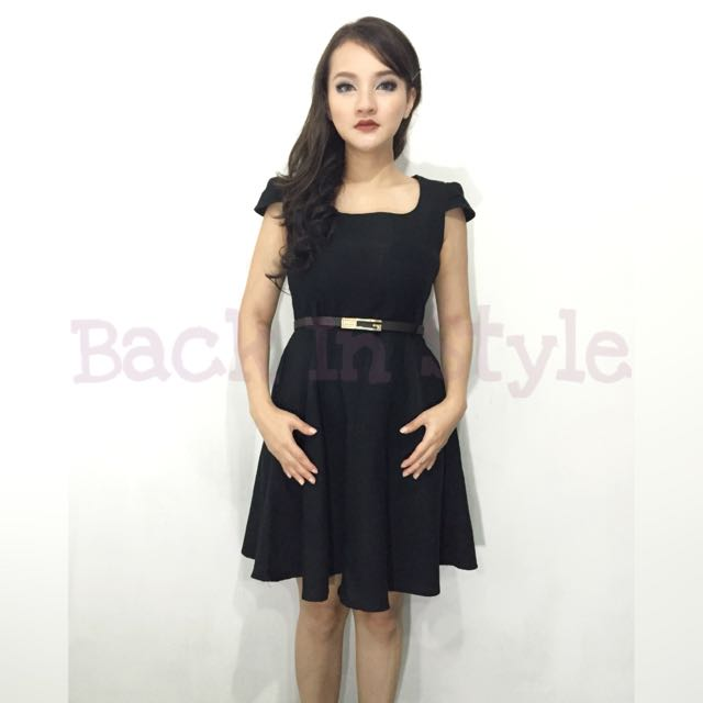 Dress Pesta Hitam / Little Black Dress