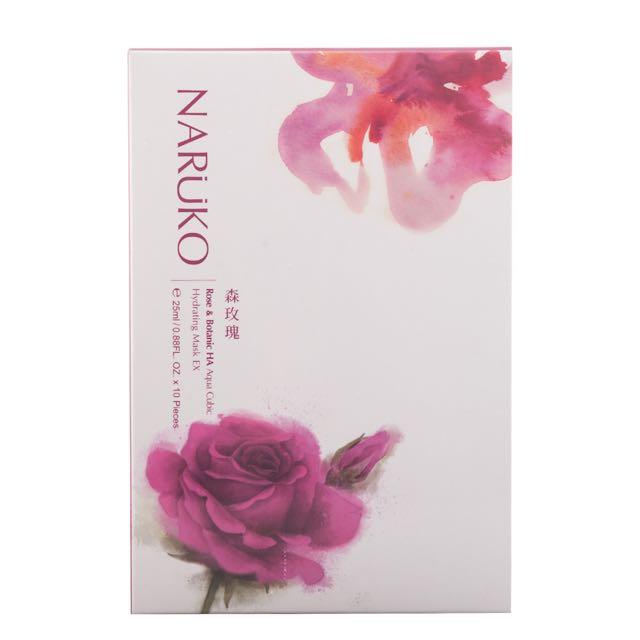 森玫瑰水立方保濕面膜EX