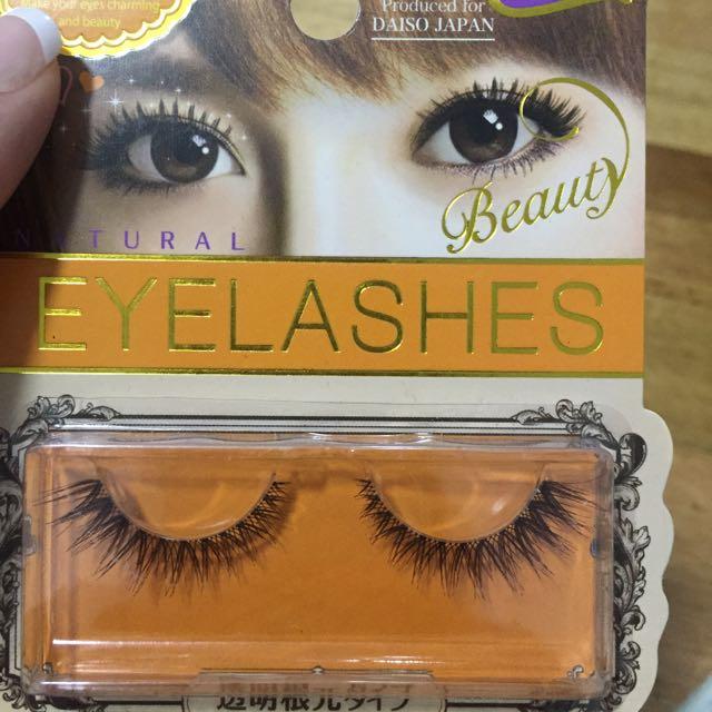 Fake Eyelashes !